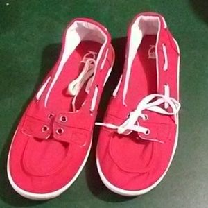 Mossimo for Target red loafers